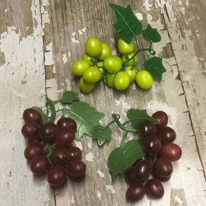 Grapes Decor Fake Fruit Decor Wine Italian Theme
